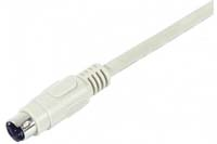 07138-02  Cable S-VIDEO Macho-Macho (mdin 4) 1,50 metros
