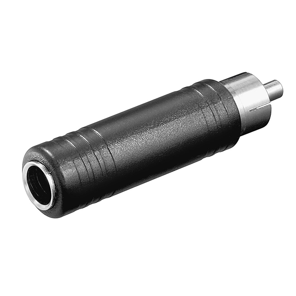 11690  Adaptador 1xRCA M  a 6,3mm H 3-pin MN