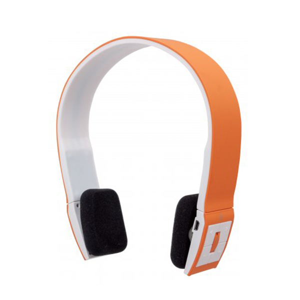 178747  Auricular Stereo con Micro Bluetooth Freestyle Naranja Manha