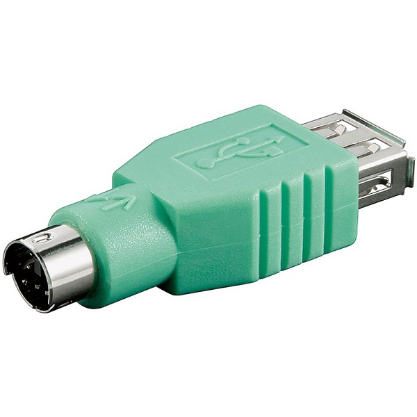 68919  Adaptador USB 2.0 Hembra A a PS/2 Macho MDIN6