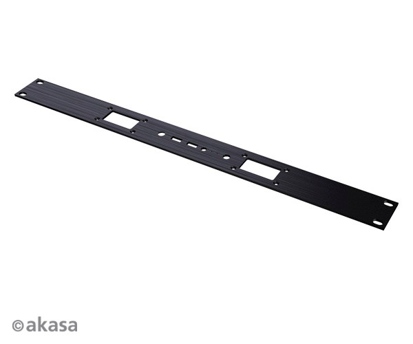 A-NUC23-FP01  Frontal 1U Rackmount front plate for Plato, Plato X, Plato X