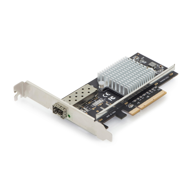 DN-10161  Tarjeta PCI Express 1 port SFP10Gb  Chipset: Intel JL82599EN