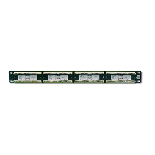"DN-91524U  Panel 19"" 24 Puertos UTP Cat 5e  Negro  1U DIGITUS"