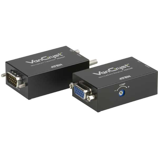 VE022  Alargador VGA sobre Cat. 5e/6 con Audio (150 m) ATEN