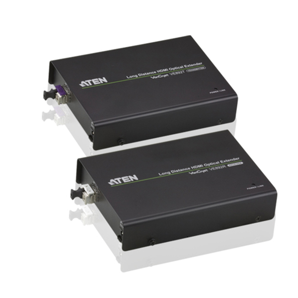 VE892  Alargador HDMI sobre Fibra Optica  (20km) IR + RS232 ATEN