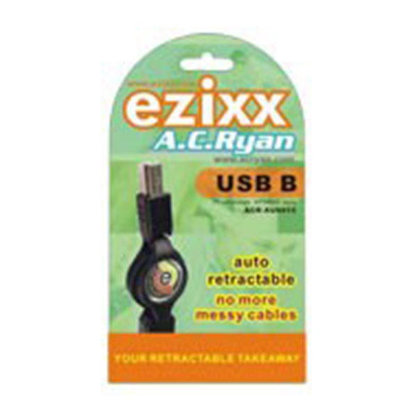 XF7433  Cable Retráctil 1394 4-4 FIRE WIRE EZIXX